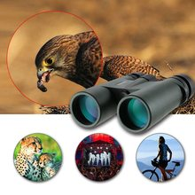Visionking 10X42 HD Binoculars Bak4 Roof Prism Multi-Coated Optics Waterproof Camping Hunting Bird Watching Telescope