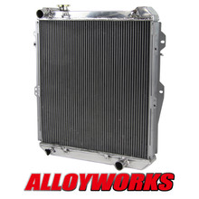 Racing Radiator FOR Toyota Hilux surf KZN130 1KZ-TE 3.0 TD 1993-1996 manual MT Hot AT/MTAUTO/MANUAL Replacement Cooling System