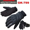2015 new winter KOMINE GK-799 motorcycle gloves keep warm waterproof windproof motorbike gloves leather black color size M L XL