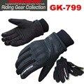 2015 nova inverno KOMINE GK-799 motocicleta luvas manter quente à prova d ' água à prova de vento motos luvas de couro preto cor tamanho ml XL