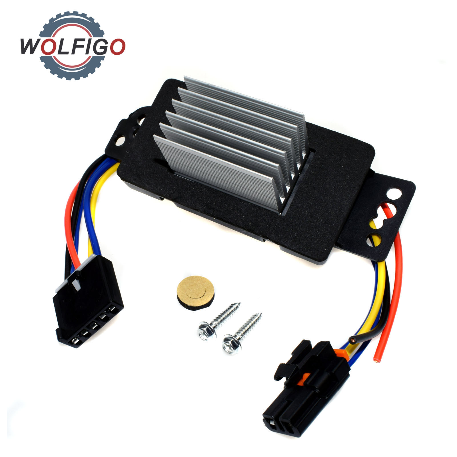 WOLFIGO New HVAC Blower Motor Resistor with Plug Harness 15850268 22754990  RU359 1580888 for Pontiac Chevrolet Impala Buick-in Blower Motors from ...