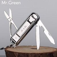 Multifunctionele nagelknipper rvs riem vinger bestand ring vinger schaar riem flesopener vinger tang scissorss S