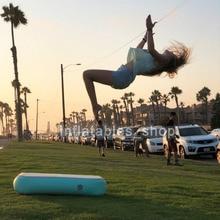 Бесплатная доставка, 1 м * 0,6 м * 0,1 м, коврик для спортзала, надувной гимнастический, с воздушным блоком, Воздушная доска