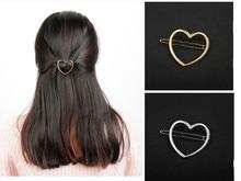 1 Pcs Fashion Women Hairpins Girls Star Heart Hair Clip Delicate Hair Pin Hair Decorations Jewelry Accessories