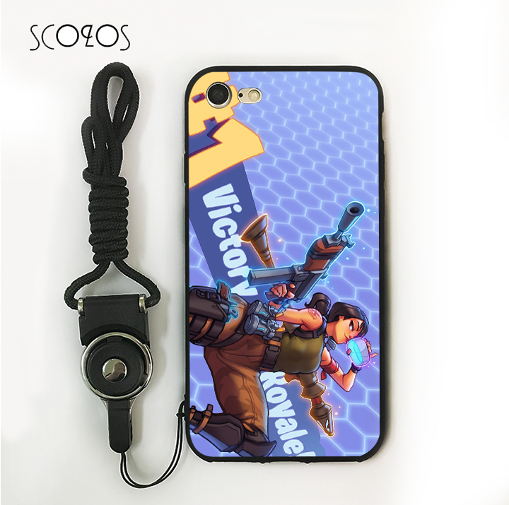 sale retailer c2e73 03719 SCOZOS fortnite (1)(002) Phone Case Soft Cover For Iphone X 5 5S Se ...