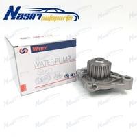 Water Pump W/ Gasket Fit for Honda Civic Del Sol 1.6L L4 SOHC D16Z6 92 95 #GWHO 32A