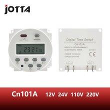 CN101A ЖК-переключатель времени 12 В 24 в 110 В 220 В реле времени уличный фонарь рекламный щит источник питания таймер без водонепроницаемой коробки