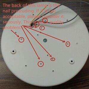 Image 5 - LED 천장 조명 현대 천장 조명 거실 조명기구 침실 주방 원격 제어 ZXD0002