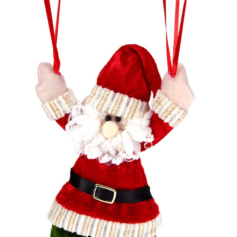 christmas home ceiling decorations parachute 24cm santa claus