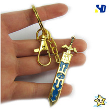 Легенда о Зельде Skyward ожерелье с мечом Zelda no densetsu оружие Cos брелок YP2164