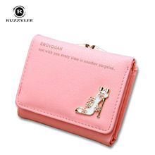 Hasp Mini Ladies Woman Wallet Women Purses And Wallets Women's Purse Clutch Female Leather 2016 New Carteira Portefeuille Femme
