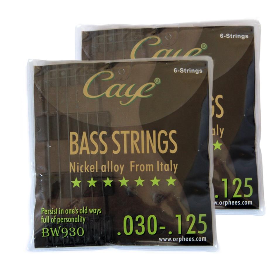 Orphee BASS guitar strings EW series guitarra strings 0.30-125 Nicel alloy from Italy
