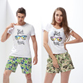 Cover wave camouflage lovers quick dry beach pants men and women casual Shorts Size loose sea men swimming trunks