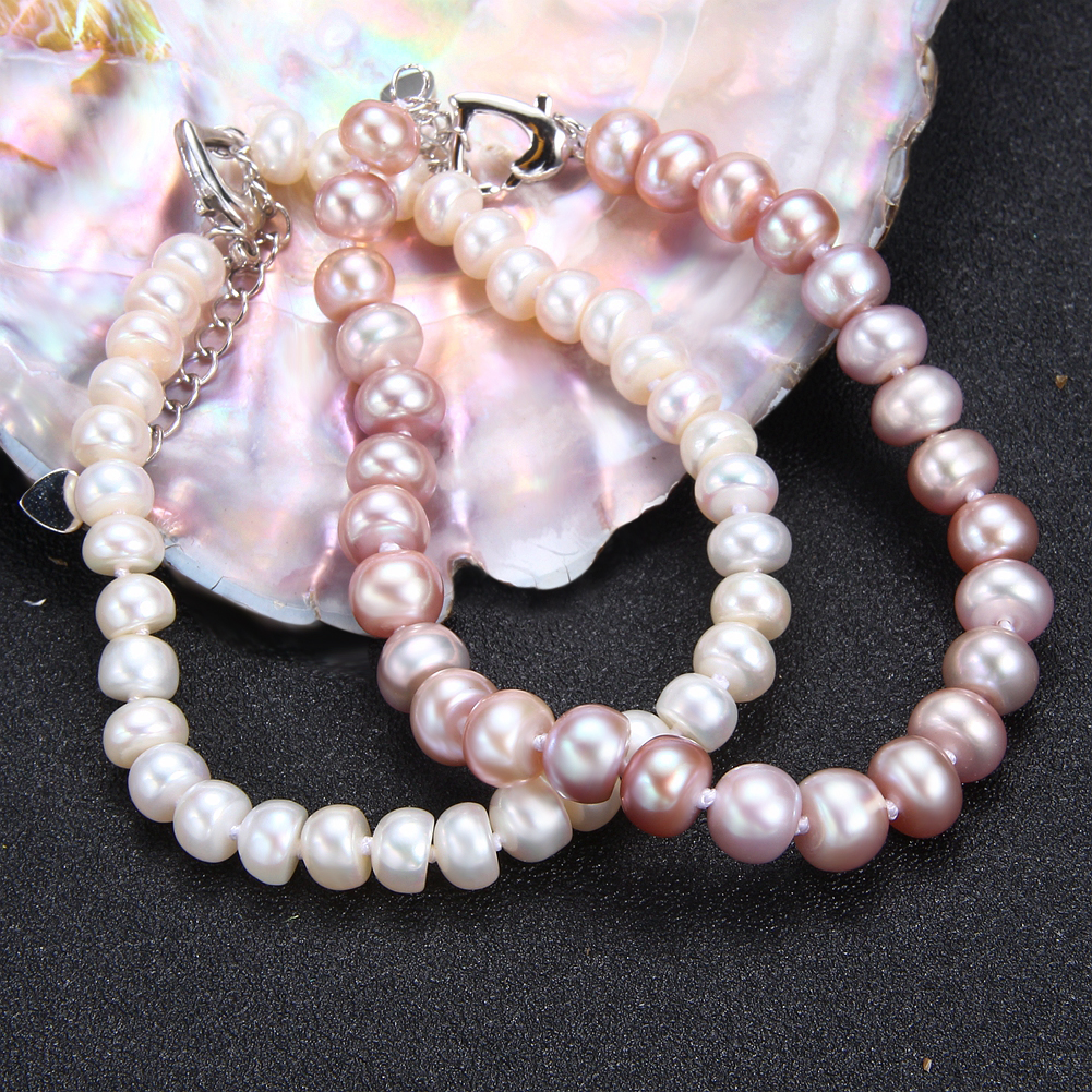 Best Promo 4202 Seven Girl100 Natural Freshwater Pearl
