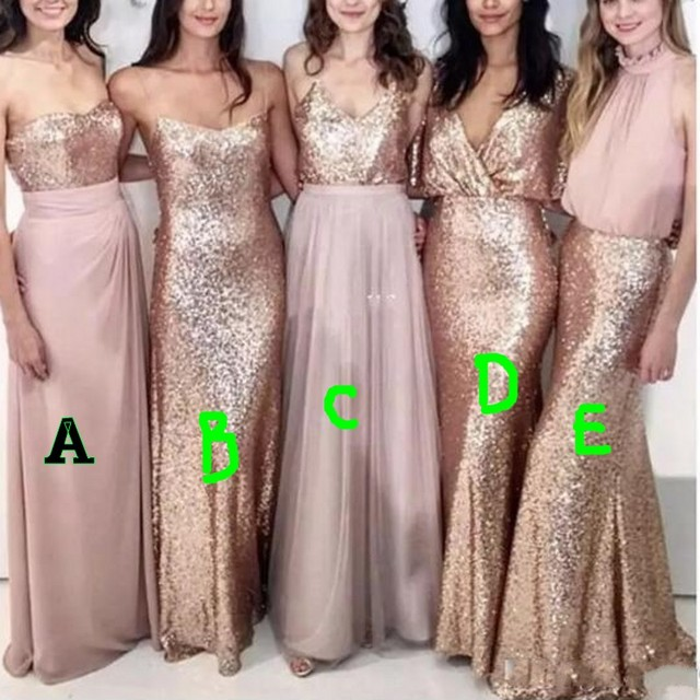 1d87e01c Sparkle Sequined Formal Dresses Style B Long Prom Gowns Mermaid Pageant  Special Occasion Gowns vestidos de gala Robe De Soiree