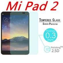 """9H 0.3mm Explosion-Proof Toughened Tempered Glass For Xiaomi Mipad 2 Mi Pad 2 7.9"""" LCD Tablet PC Film Clear Screen Protect Cover(China (Mainland))"""