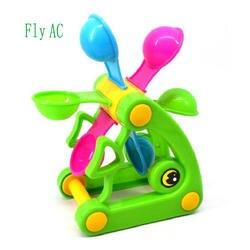 Fly AC рыба пляж Игрушечные лошадки, водяное колесо/колеса Тип dabbling игрушка, песочные часы, любимый подарок для малышей