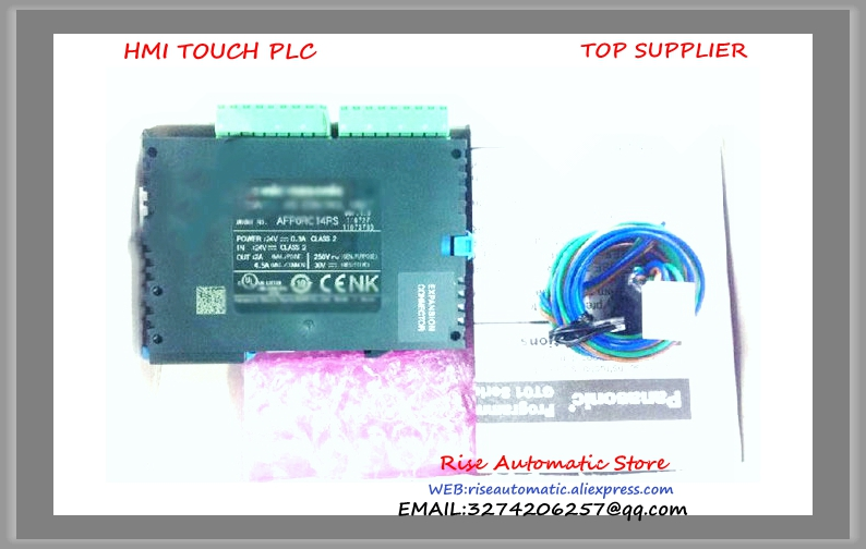 NEW AFP0RC14CRS PLC New Original 24 V DC 8 input points 6 Relay output points FP0R Control Unit