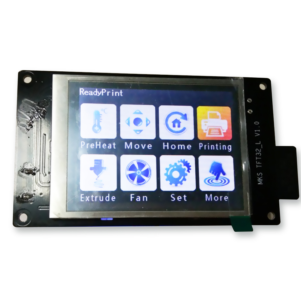 3 2 MKS touch screen smart controller support U disk and SD card for 3D printer