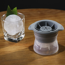 2.5 INCH Ice Ball Cube Maker Sphere Mold Round Jelly Mould Set For Cocktail Whiskey