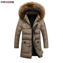 Fashion Brand!3XL Winter Casual Hooded Thick Parkas,Cotton-Padded Warm Coat For Winter Slim Men And Women Winter Jackets Outwear
