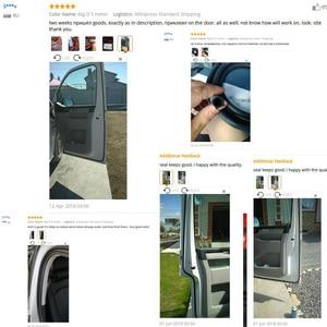 Image 4 - Car Accessories Universal 2~8 Meter Big D Type Noise Insulation Car Rubber Door Sealing Strip High Density Auto Sound Insulation