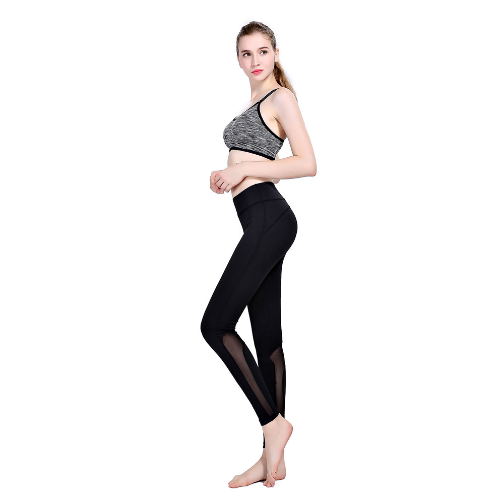Womail Brand Hot SaleElbows for fitness Women Yoga Gym Sport Leggings Running Fitness Pants Stretch Workout Trouser