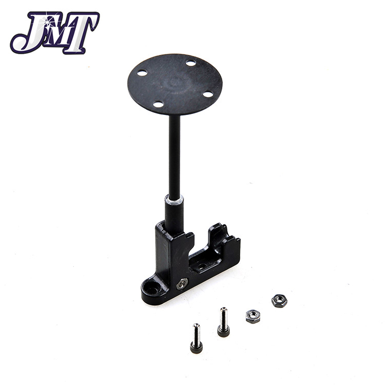 JMT Plastic GPS Antenna Stand Mount Folding Seat Base Foldable Bracket Holder for DIY Drone FPV 250 Quadcopter Multirotor gps foldable antenna base fitting seat bracket holder for dji gps purple