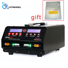 1-8s Lipo/Lihv Battery Balance Charger for agricultural spraying Drone Plant Protection UAV 1200W 25A Dual Port HTRC H825AC DUO