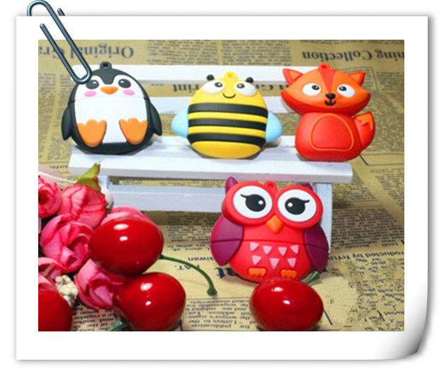 fox/bee/bird USB 2.0 USB Flash Drive thumb pendrive u disk usb creativo memory stick 4GB 8GB 16GB 32GB 64GB S740 S879 S880