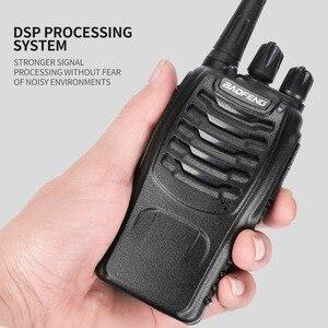 Image 4 - Baofeng BF 888S ווקי טוקי 5W כף יד Pofung bf 888s UHF 400 470MHz 16CH דו כיוונית נייד CB רדיו משלוח חינם