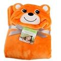 Adorável Nova forma animal bonito do miúdo do bebê toalha de banho com capuz toalha de banho do bebê manto bebê neonatal cobertor segurar a ser