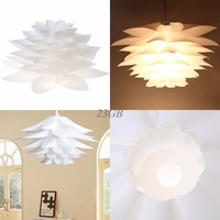 DIY Lily Lotus IQ Puzzle Pendant Lampshade Cafe Restaurant Ceiling Hanging Lamp A20