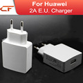 2016 free shipping 5V 2A EU USB power adapter travel Charger for HUAWEI P8 / P8 Lite / P8 Max / Mate 7 / Honor 6 and Tablet PC