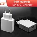2016 frete grátis 5 v 2a usb power adapter carregador de viagem da ue para a huawei p8/p8 lite/p8 max/mate 7/honor 6 e tablet PC
