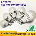 Wholesale NEW 2015 Led E27 Led Bulb 3W 5W 7W 9W 12W LED Lamp 220V Cold Warm White Bulb Led Spotlight Lamps