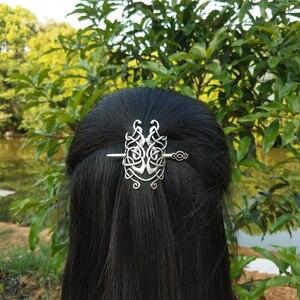 Image 2 - 10 PCS נורדי ויקינג סלטיקס Knotwork מכבנת שיער תכשיטי לנשים Cetilcs שיער תכשיטים