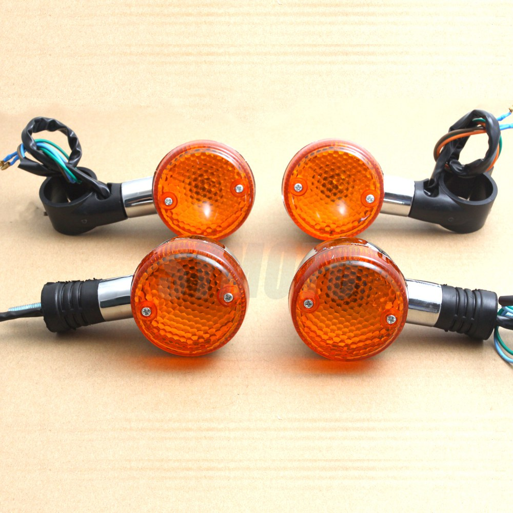 Motorcycle Front Rear turn signal signaling lights For Honda Magna 250 750 shadow 400 750 Steed VLX 400 600 1100 DLX VTX1300 180