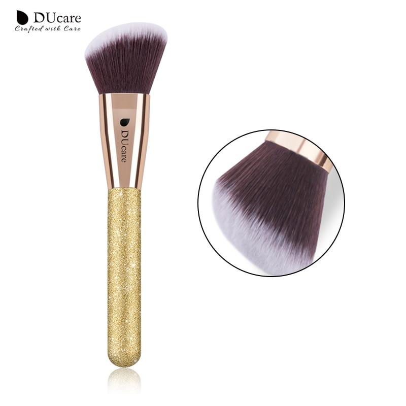 DUcare 1 PC Contour Brush Angled Sculpting Brush Powder Blush Blend Makeup Brushes Cosmetic ToolsDUcare 1 PC Contour Brush Angled Sculpting Brush Powder Blush Blend Makeup Brushes Cosmetic Tools