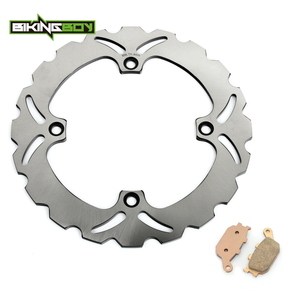 Image 2 - BIKINGBOY Rear Brake Disc Rotor Disk + Pads DL 650 V Strom 04 10 DL 650 ABS / Traveller 07 10 DL 1000 02 09 08 2007 06 05 04 03