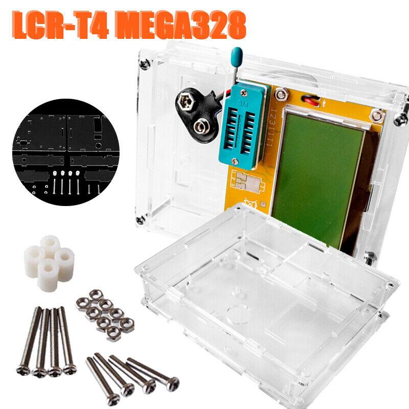 Protector Housing Inductance Lcr-t4 Case Digital MEGA328 Fitting Meter Transistor Tester Diode Capacitance Scr