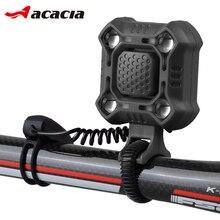 2 в 1 велосипедный Рог+ светильник до 120 дБ USB зарядка MTB дорожный велосипед передний руль электронный Рог лампа водонепроницаемый велосипед колокольчики кольцо