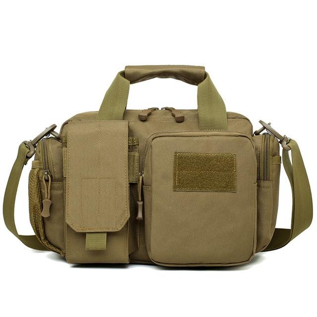 Naturebell nz20 새로운 6L 야외 가방 다기능 포켓 남성 어깨 슬링 핸드백 위장 전술 스토리지 핸드백