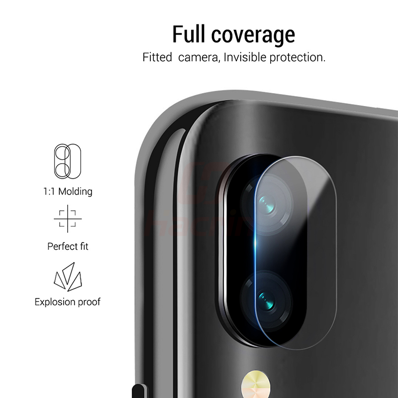 hacrin anti-explosion glass screen protector for camera lens for redmi and xiaomi phones