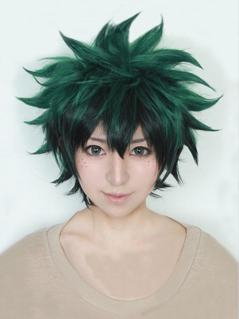 My Boku no Hero Academia Izuku Midoriya Short Green Wig