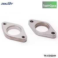 38mm Weld Wastegate Tapped Flange Stainless Steel Fit For Tail TK CGQ24