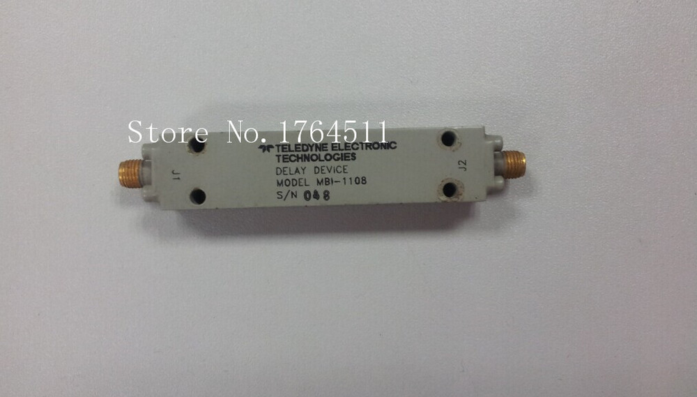 [BELLA] TELEDYNE MBI-1108 9.2GHZ RF Microwave Delay Line SMA