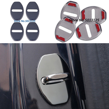 цена на Car Styling Auto Door Lock Cover Case For Volkswagen VW Tiguan MK2 Passat B5 B6 B7 Golf 6 MK6 MK7 Golf 7 Jetta MK5 MK6
