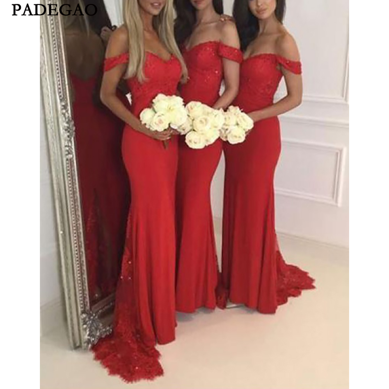 Simple Mermaid Long   Bridesmaids     Dresses   Sleeveless Customized Spring Honor Of Maid Junior   Bridesmaids   Prom Custom Made