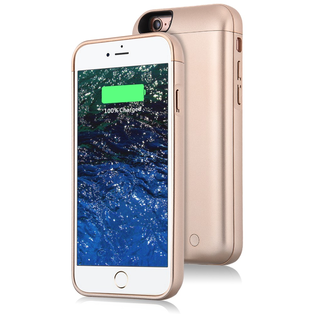 slim battery case for iphone 6 gold  (2)